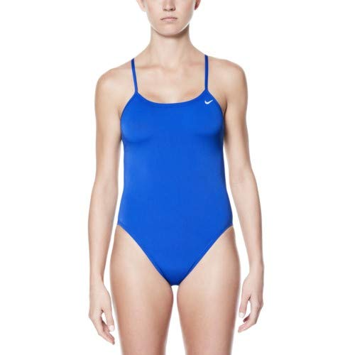 Nike Poly Core Solid Cut-Out Tank Swimsuit - Women