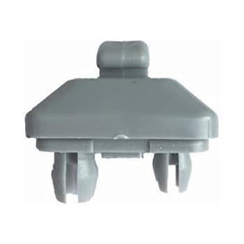 Runmade Interior Sun Visor Hook Clip Bracket for Audi A1 A3 A4 A5 Q3 Q5  Dark Beige 8E0 857 562 A0104 b73563236d7