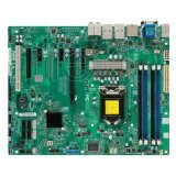 - Supermicro X9SAE-O LGA1155/Intel C216 Express PCH/DDR3/SATA3 and USB3.0/A&2GbE/ATX Server Motherboard