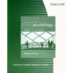 Study Guide for Weiten's Psychology: Themes and Variations, Briefer Edition, 7th
