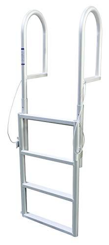 (Extreme Max 3005.3461 Sliding Dock Ladder, 4 Step )