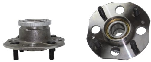 Detroit Axle - Rear Wheel Bearing and Hub Pair for ABS Disc Brakes 1998-2002 Honda Accord w/4-Cylinder Only