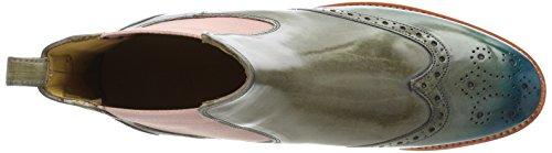 Melvin & Hamilton Dame Amelie 5 Chelsea Støvler Beige (marmor) g600CVoPG