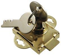 Prime Line Brass Mailbox Lock 97-19