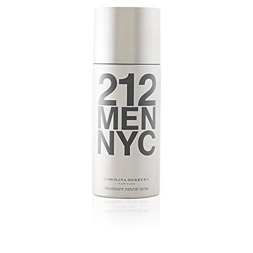 Deodorant 212 Men - 212 By Carolina Herrera, Deodorant Spray For Men, 5 Fl. Oz