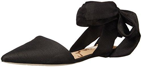 Sam Edelman Women's Brandie Pointed Toe Flat, Black, 8 M US