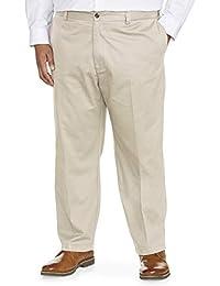 Amazon Essentials Pantalón chino de corte holgado resistente a las arrugas con frente plano. Pantalones casuales para Hombre