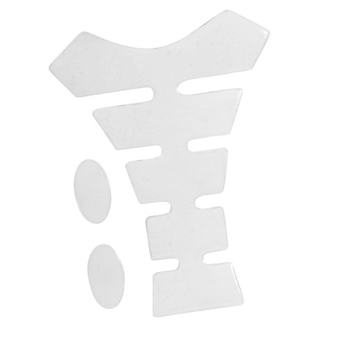 Amazon.com: 3D Transparent Clear Motercycle Sport Tank Gas Protector Pad Sticker Universal Fit: Automotive