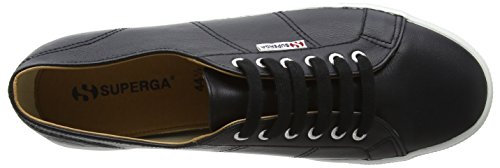 Superga 2730 Nappaleau, Baskets Mixte Adulte Noir (noir/blanc)