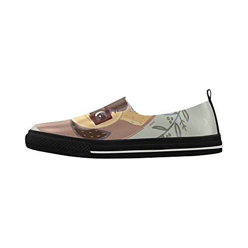 Slip hipster Pug of Custom D with Shoes Microfiber cup Story coffee Sneaker Mens on qR1y4K8