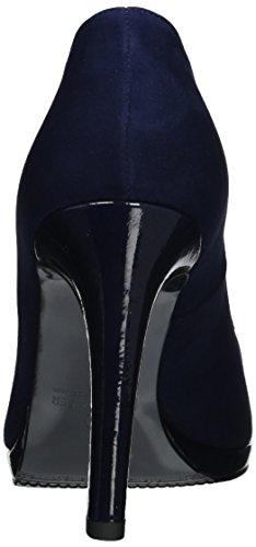 notte Femme Suede 40 Eu Bleu Kaiser Peter Crakle 732 Bleu Herdi Bout Fermé Escarpins PxWPvAqSX