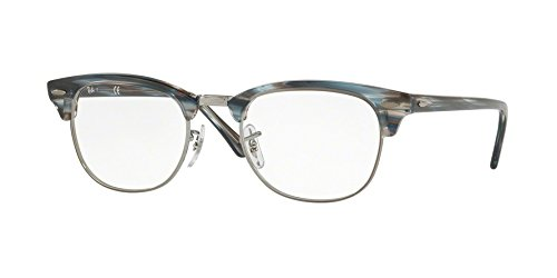Ray-Ban Clubmaster RX5154 - 5750 Eyeglasses - Ban Prescription Clubmaster Ray Eyeglasses