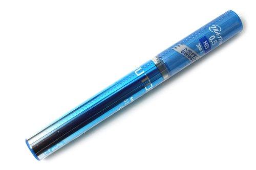 uni-kurutoga-mechanical-pencil-05mm-lead-refill-blue-case-hb-u05203hb33