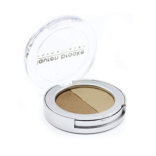 Lauren Brooke Cosmetiques Pressed Eyeshadow Duo, Natural, Organic Makeup -