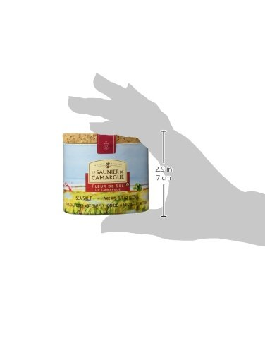 Le Saunier De Camargue Fleur De Sel Sea Salt, 4.4-Ounce Canisters (Pack of 3) by Le Saunier De Camargue (Image #9)