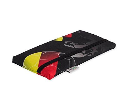 Stilbag Fan Smartphone Case - Championnat d'Europe de football 2016 - Drapeau de l'Allemagne - Housse pour Apple iPhone SE