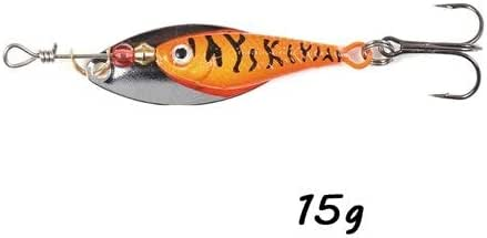 Minnow Spinner Bait Metal Spoon Long Casting 12g 15g 20g Artificial Fishing Lure