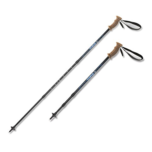 Bagail-Ultralight-trekking-Poles-Anti-Shock-Adjustable-Mountaineering-Hiking-Walking-All-around-Trail-Poles-1-Pair