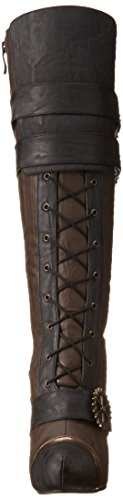 Ellie Shoes Womens 420 Quinley Boot Brown 24jyMqN1