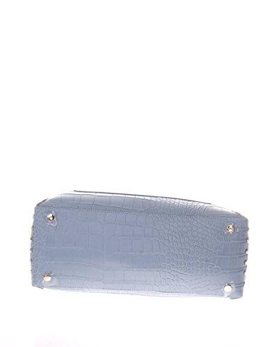 Trussardi Jeans Donna Borse a mano 75B003279Y099999 U11 BORSA ACACIA COCCO PRINTED Blu