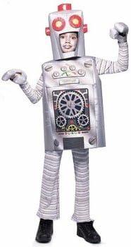 Costume Halloween Robot.Amazon Com Child S Robot Halloween Costume Size Small 4 6 Clothing