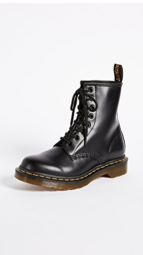 Boot Black Dr Combat 1460 Leather Martens Smooth Men's qwwSBHInU
