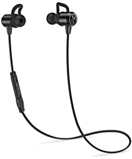 HIPPOX Bluetooth Headphones, Waterproof V4.1 IPX5 [Noise Cancellation] Wireless Sports Earbuds