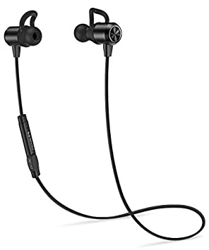 HIPPOX Bluetooth Headphones, Waterproof V4.1 IPX5 Noise Cancellation Wireless Sports Earbuds Headset with Mic for iPhone Samsung Galaxy and Android Phones