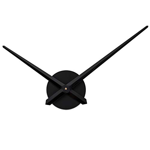 (Aililife 3D Clock Hands, DIY Large Clock Movement Mechanism with 12 Inch Long Spade Hand, 3D Wall Clocks Home Art Decoration)