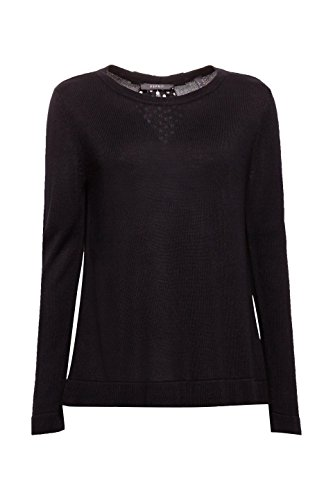 001 Black Noir Femme ESPRIT Pull Collection qxg1AHw7U