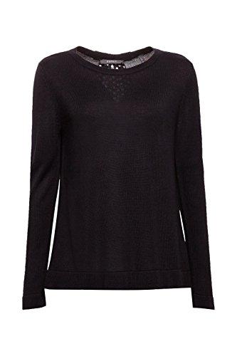 001 Black Noir Femme ESPRIT Pull Collection qxg1AHw7U