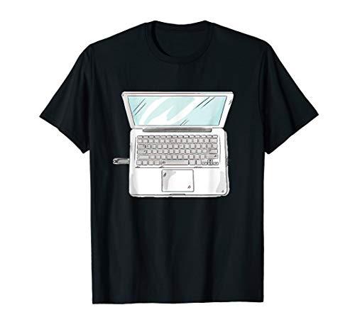 Laptop Halloween Costume T-shirt Computer -