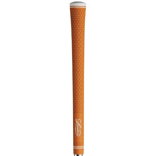 Lamkin R.E.L. 3GEN Orange – 13pc Grip Kit (with tape, solvent, vise clamp), Outdoor Stuffs