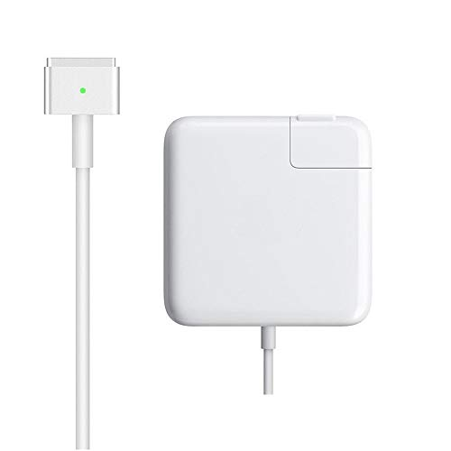 Mac Book Pro Charger, AC 60W Magsafe 2 T-Tip Power Adapter Charger Replacement for MacBook Pro 13 Inch (for MacBook Pro Released After ()