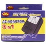 nintendo original power cord - 3 in 1 AC Adaptor - Nintendo, Super Nintendo, Genesis