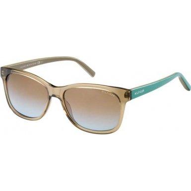 Tommy Hilfiger 2215306JU5698 TH 1985 6JU 98 Translucent Brown Sunglasses