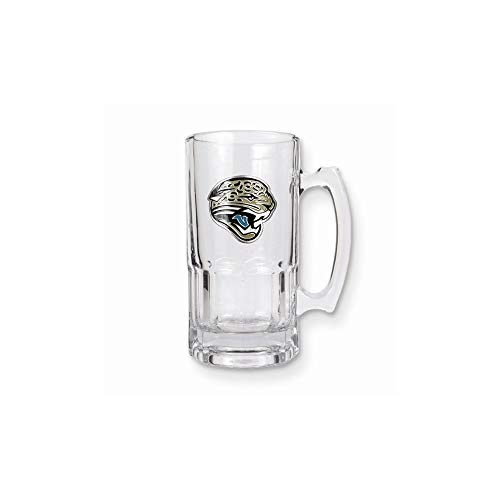 NFL Jacksonville Jaguars 1-Liter Macho Mug (Primary Logo)