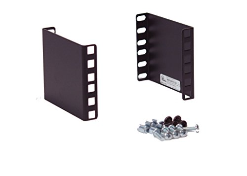 Iab104v10 2U Rackmount 2U Rack 4  Extender For 19  Or 23  2 Post Relay Rack Or 4 Post Server Cabinet   Wall Mount Cabinet  1 Pair