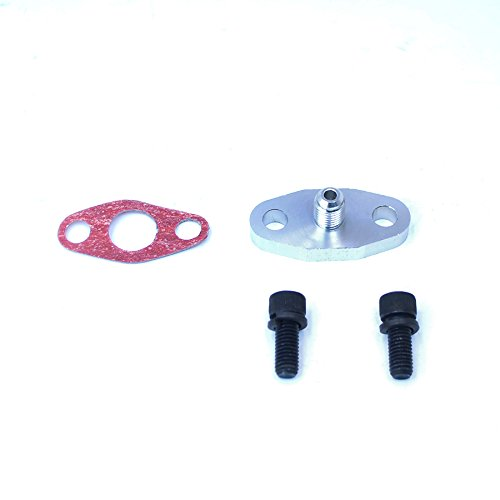 Rev9Power Rev9_AC-026; Turbo Oil Feed Adaptor With Built In Restrictor(-4AN)