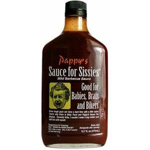 (Bourbon Q Pappy's Sauce for Sissies by Pappy's Sauce)