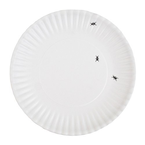 Picnic Ants Faux Paper 9-inch Melamine Plates, Set of 4