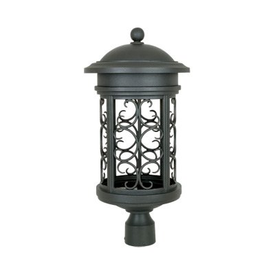 Ellington 11'' Post Lantern - Dark Sky by Designers Fountain 31136-ORB in Bronze Finish