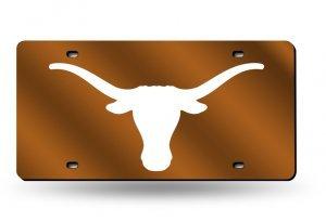 Rico NCAA Texas Longhorns Laser Cut License Plate