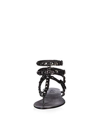 Aska Kvinna Mumbay Sandal, Svart, 36 M Eu / 6 M Oss