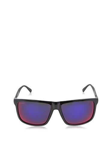 a6c24bb10e Gucci GG 1075 S 1075 S GVBMI Shiny Black Shiny Black