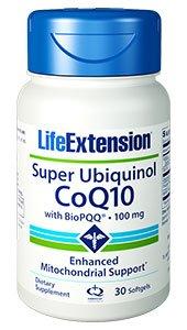 Life Extension Super Ubiquinol Coq10 with Biopqq Softgels, 30 Count