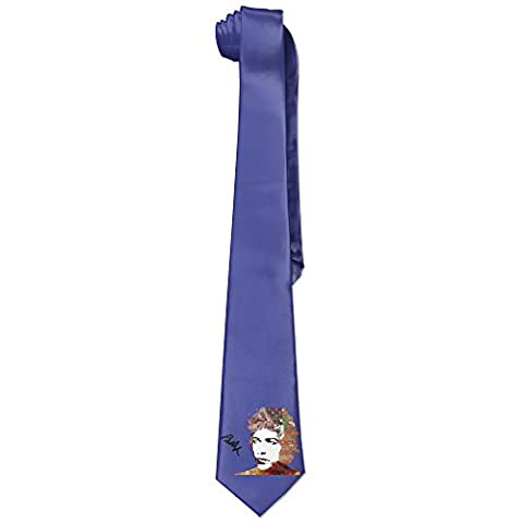 ITHOMS DYLAN Mens New Necktie Fashion Silk Wide Ties - Creek Cocktail