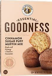Baking Mixes: King Arthur Essential Goodness Cinnamon Sugar Puff Muffin
