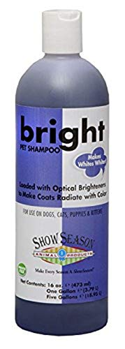 Showseason Animal Products Bright White Pet Shampoo 16 oz.