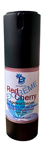 Diva Rose - Diva Stuff Red Cherry EXTREME Aging Skin Serum,with Rosehip Oil,cucumber,ve & Cherry Extract